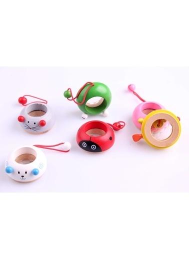 Learning Toys 2'li Ahşap Kaleydoskop Seti Renkli